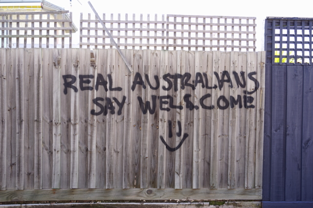 Real Australians (un)Learn